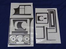 OPEL HOLDEN Astra F DASH KIT - CARBON Style - 16pce interior parts