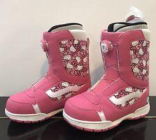 Vans Ragazze Encore Hello Kitty Rosa Snowboard Stivali. misura 4 Regno Unito.