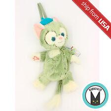 "Japan Tokyo Disney Sea Limited Gelatoni Cat Plush Bag 11"" Purse Doll Duffy Bear"