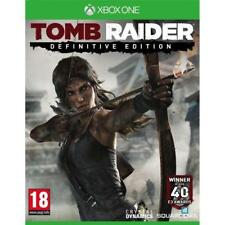 Tomb Raider : Definitive Edition - XBOX ONE IMPORT neuf sous blister