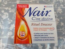Nair hair removal wax no need for strips and heated in microwave