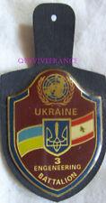 IN15586 - INSIGNE UNIFIL LIBAN 3° BATAILLON DU GENIE - UKRAINE