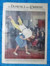 La Domenica del Corriere 7 agosto 1949 Londra - Chio,Grecia - Interpol