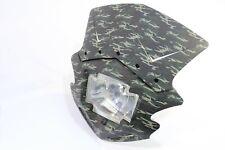 Lampenmaske Maske Gothic camouflage universal Street Fighter E-geprüft Motorrad