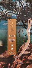 OEM Nintendo Wii Legend Of Zelda Skyward Sword Gold Remote MotionPlus RVL-036