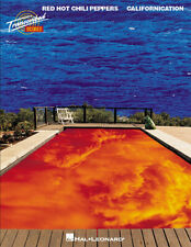 Red Hot Chili Peppers Californication for Guitar Tab Bass Drum Sheet Music Book