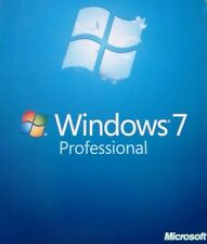 Windows 7 Professional 64 Bit w/ SP1 Full Install Version DVD w/ Product Key