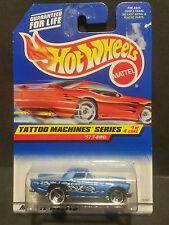 1997 Hot Wheels #685 Tattoo Machines Series 1/4 1957 T-Bird - 18767