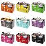 Lady Travel Purse Large Women Handbag Insert liner Organizer Bag in