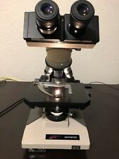 Olympus BH2 Phase Contrast Microscope 4 Obj Light Source Adj  Holidays Deal!