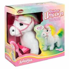 Talking Magical Animigos Rainbow Unicorn Plush Soft Toy - Boxed Interactive