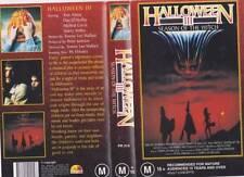 Horror Halloween VHS Movies