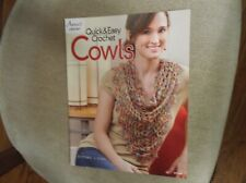 Quick and Easy Crochet Cowls- 6 Patterns by Annie's Crochet