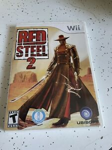 Red Steel 2 (Nintendo Wii, 2010) Tested working, No manual