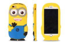 Iphone 4/iPhone 4s MINION 3d Funda de teléfono de silicona/Despicable Me