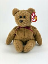 Ty Beanie Babies Curly The Bear Plush - LNWT