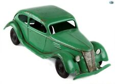 Awesome 1930s Vintage Kingsbury Toys Pressed Steel Lincoln Zephyr Wind-up Car