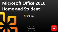 Microsoft Office 2010 Home and Student Vollversion - Product Key Download 1PC