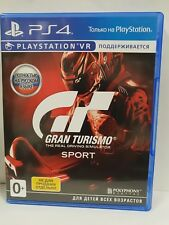 Gran Turismo Sport PS4 Great condition