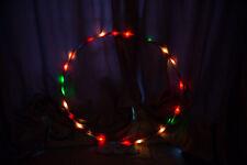 LED hula hoop MULTICOLOUR 90cm diameter Performance Hoop Sports Loose Weight