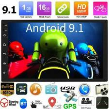 Android 9.1 Quad Core GPS Navi BT WiFi 2DIN 7in Car Stereo FM Radio MP5 Player