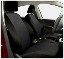 Car seat covers fit Volkswagen Lupo - full set black / grey