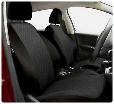 Car seat covers fit Nissan Micra - full set black / grey
