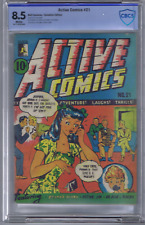 Active Comics #21 Bell Features Pub. Rare Canadian Edition