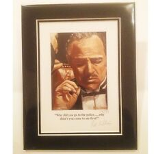 """The God Father ~ Limited Edition """"Why did you go to the police"""" by Pat Killian"""