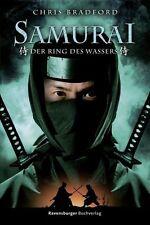 Samurai 5: Der Ring des Wassers ►►►UNGELESEN von Chris Bradford ° Gebunden °