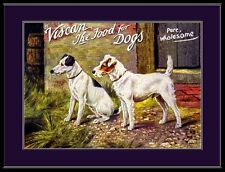 Jack Russell Fox Terrier Dog Dogs Puppy Puppies Advertisement Vintage Poster
