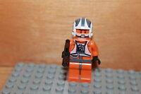 Lego Star Wars - Zev Senesca Rebellen Pilot Figur mit Blaster Waffe aus Set 8089