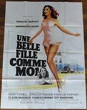 Ancienne Affiche Cinéma UNE BELLE FILLE COMME MOI. Cinema Movie Poster.