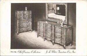 Hammond Indiana RPPC Metz Furniture Co. Advertising 1954