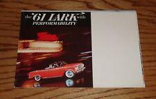 Original 1961 Studebaker Lark Foldout Sales Brochure 61