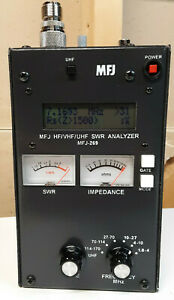 Great Condition MFJ-269 HF UHF VHF SWR Antenna Analyzer W/ LCD Frequency Counter