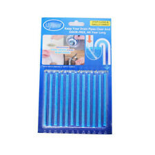 Blue Sani Drain Cleaner Sticks Odor Remover Keep Pipe Clean for Kitchen Tub Sink