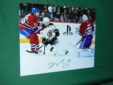 Boston Bruins Rich Peverley Autographed 8x10  Photo