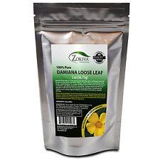 Damiana Leaf Tea Cut & Sifted 100% Pure Wild Crafted (TURNERA DIFFUSA) 2oz