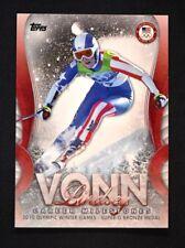 2018 Topps US Winter Olympics Lindsey Vonn Career Milestones #LV-10 Lindsey Vonn