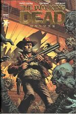 Walking Dead Deluxe #1 Finch Gold Foil one per store Retailer Thank You IMAGE
