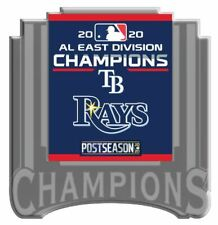 2020 TAMPA BAY RAYS AMERICAN LEAGUE PIN EAST DIVISION CHAMPION WORLD SERIES