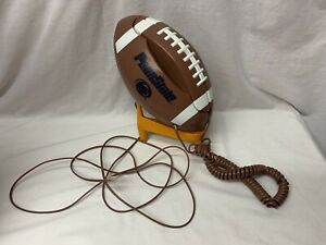 Vintage Penn State Nittany Lions Push Button Telephone Football Phone Tested!!