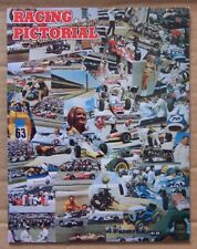 MAGAZINE ~ RACING PICTORIAL ~ 1966 SUMMER ~ USAC INDY NASCAR IMCA HYDROPLANE