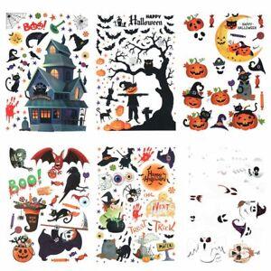 Festival Decor Glass Stickers Halloween Window Stickers Halloween Decoration