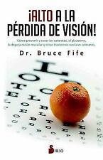 Alto a la Perdida de Vision (Paperback or Softback)