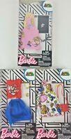 Barbie Complete Fashion Super Mario Bros. Nintendo clothing Lot of 3 pieces