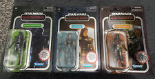 Star Wars Vintage Collection Carbonised Mandalorian /Cara Dune/ Deathtrooper New