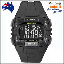 GENUINE Timex Men's Expedition Black Watch T49900, FREE EXPRESS POST 1-2 DAYS