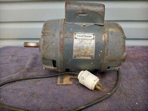 Sears Roebuck Craftsman Appliance Motor